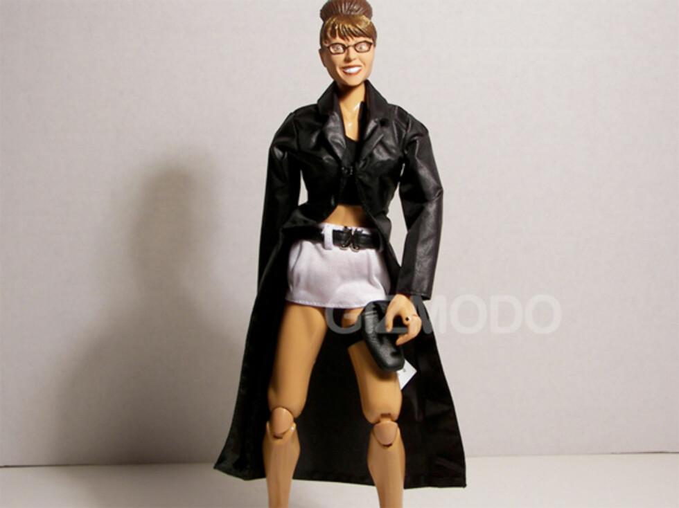 Med Sarah Palin blir det action