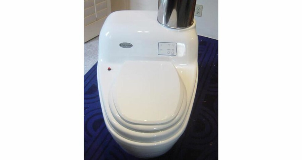 Varm toalettløsning