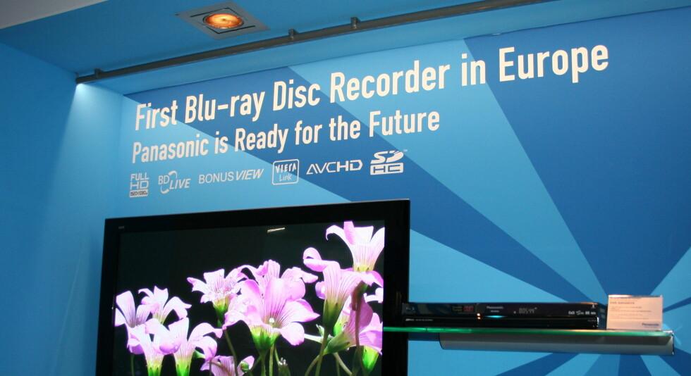 Panasonics Blu-ray show