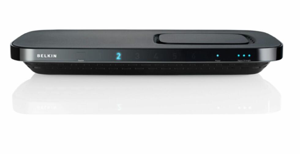 Trådløs HDMI med full pupp