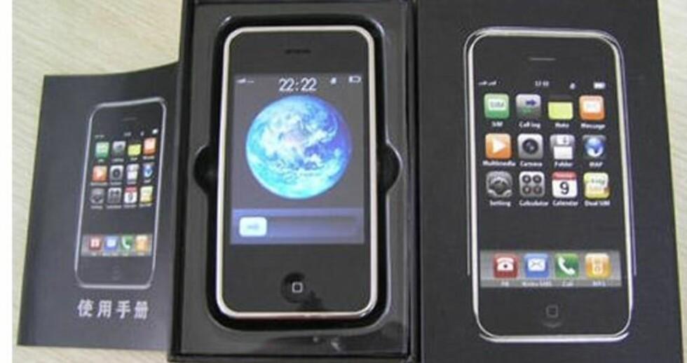 Storsalg på iPhone-kopi