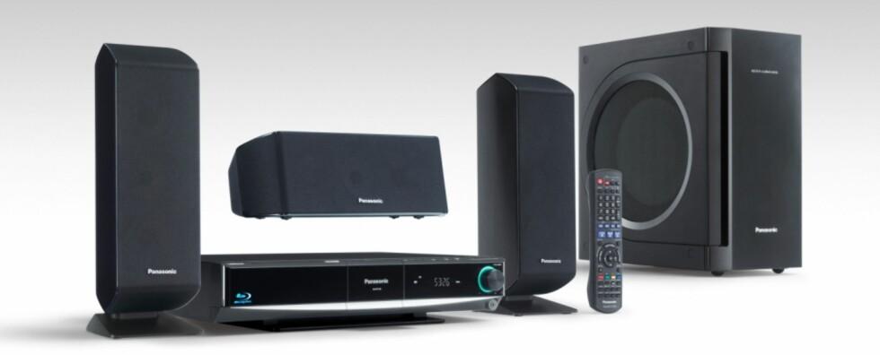 Komplett Blu-ray system fra Panasonic