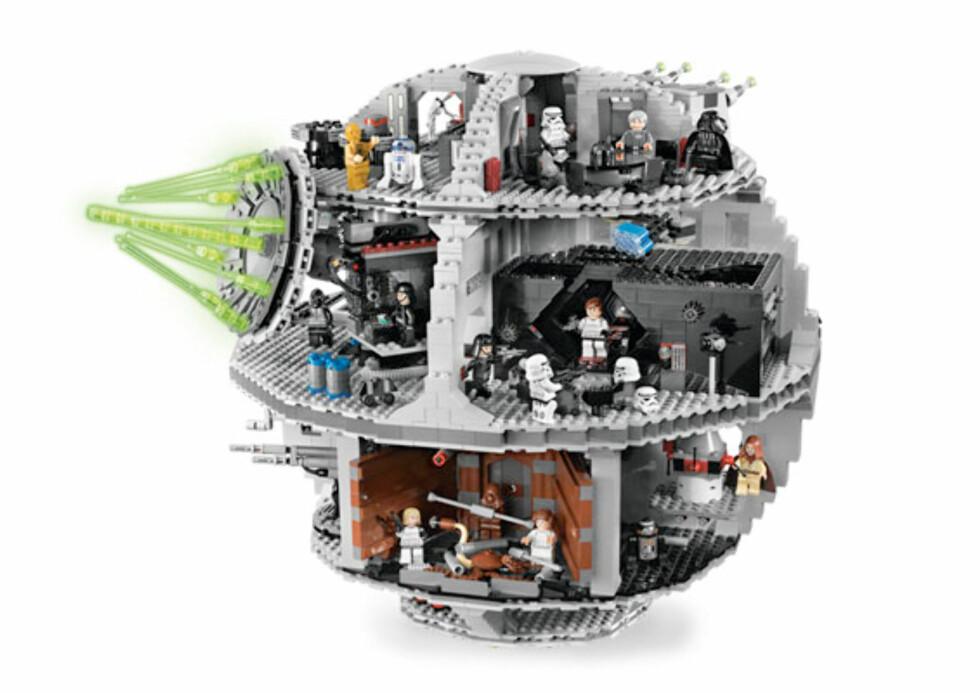 Stjerneleke fra Lego