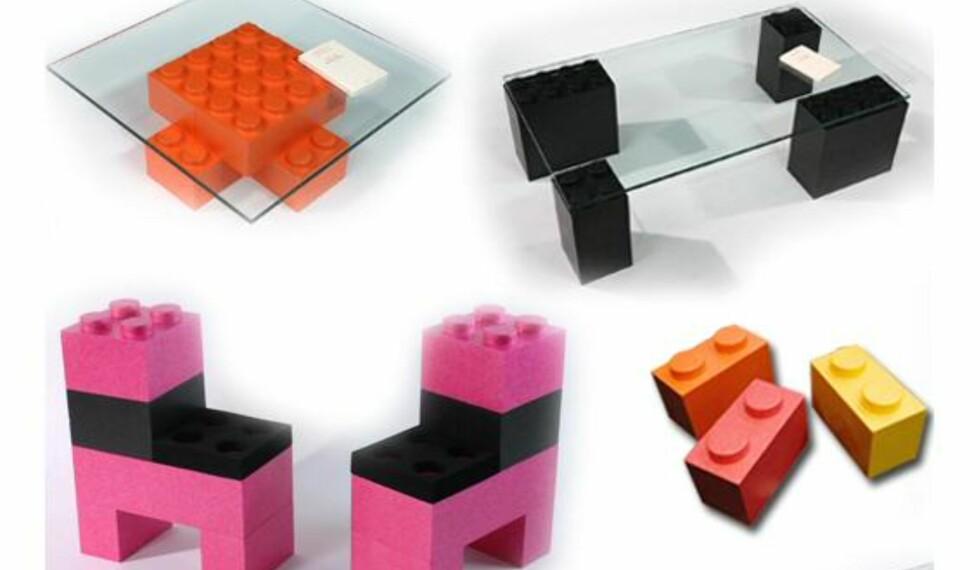 Lego-møbler for voksne