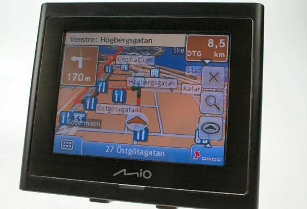 GPS-TEST: Mio Moov 200