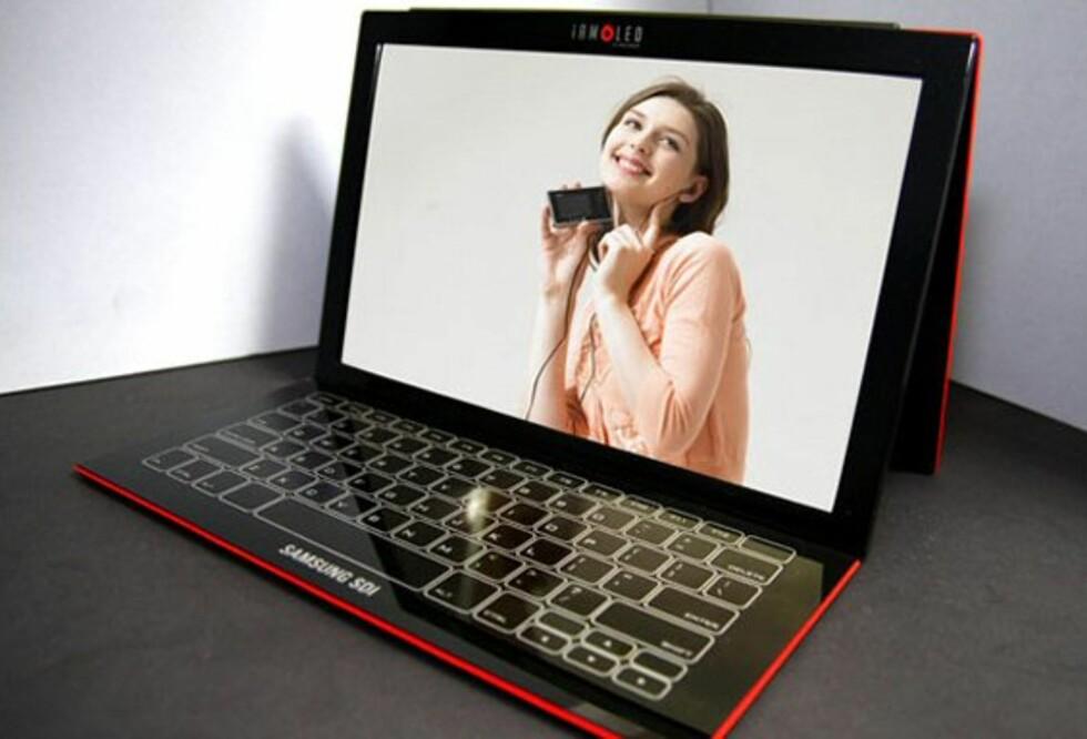 Konsept-laptop fra Samsung