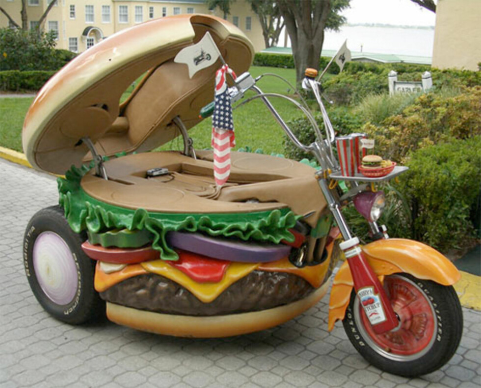 Burger-Harleyen er ingen klassiker