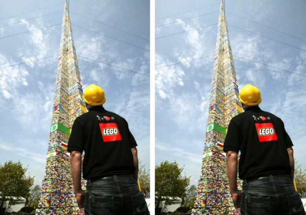 Verdens høyeste legotårn