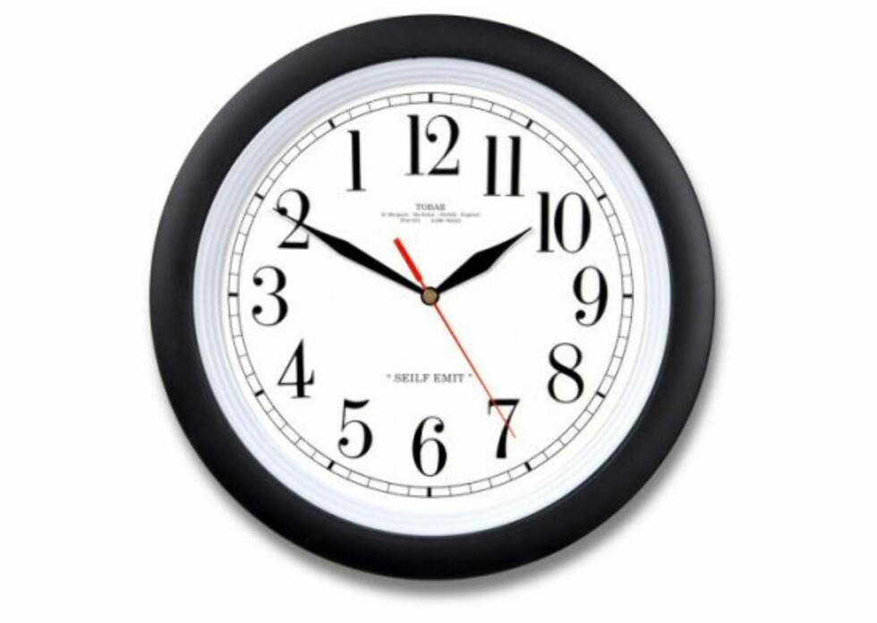 Backwards Clock prøver å lure deg