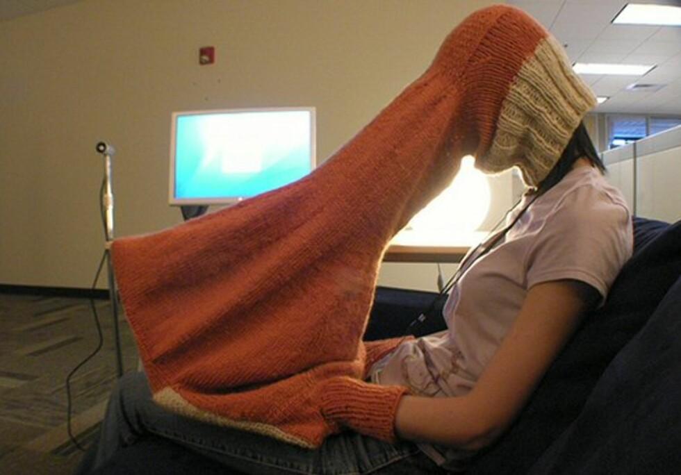 Body-Laptop skjuler det meste