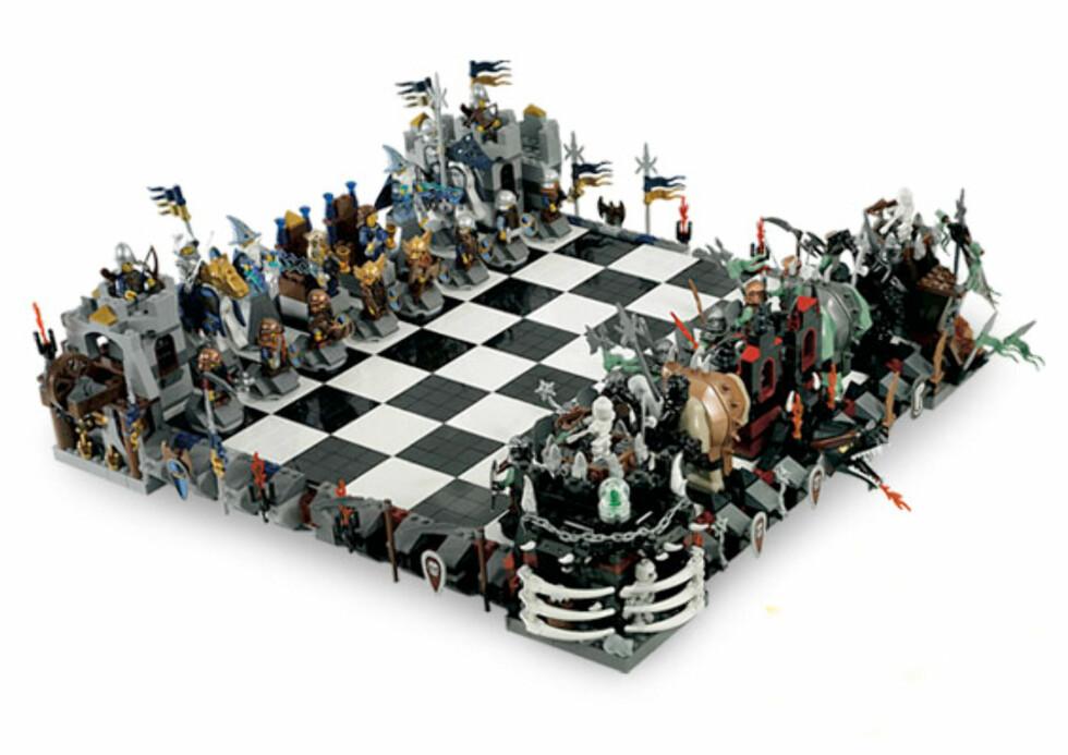 Lego for spillegale