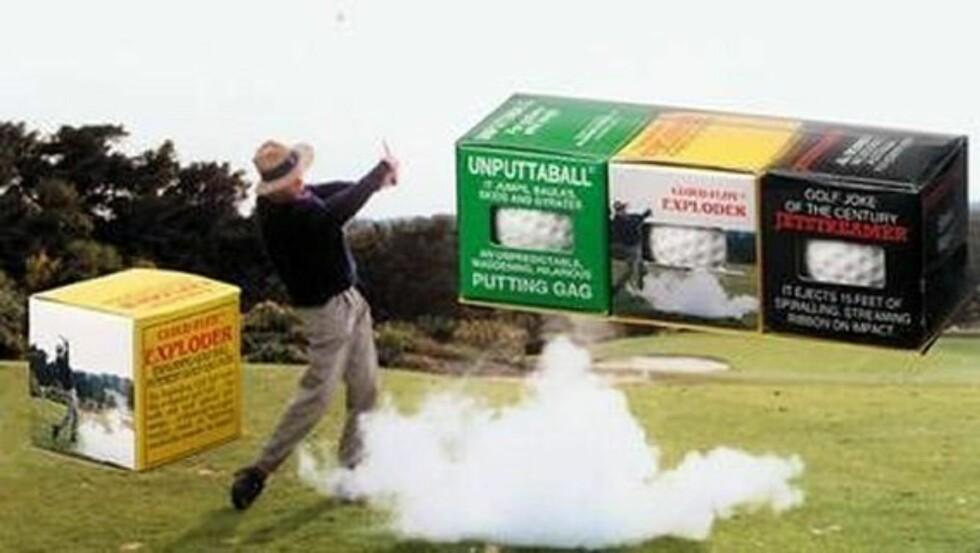 Funny Golf Balls