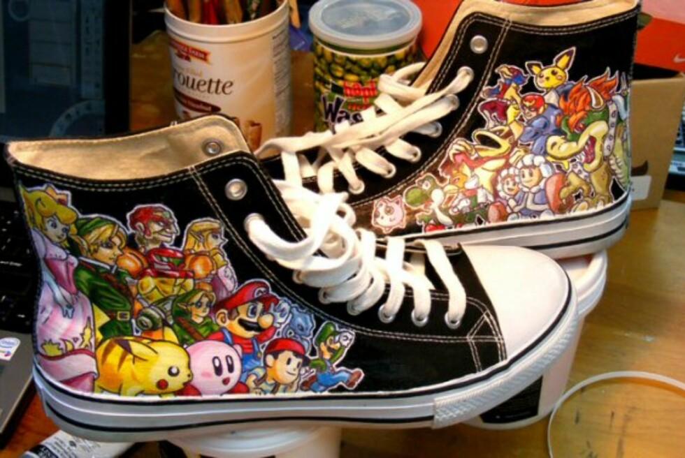 Her er Nintendo-skoa