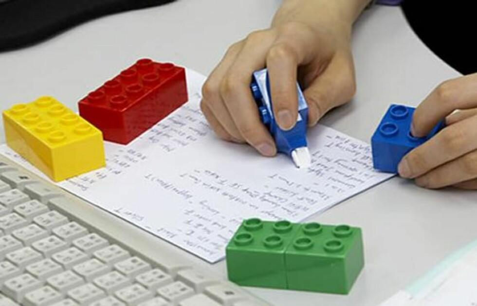 Lego med rettetast