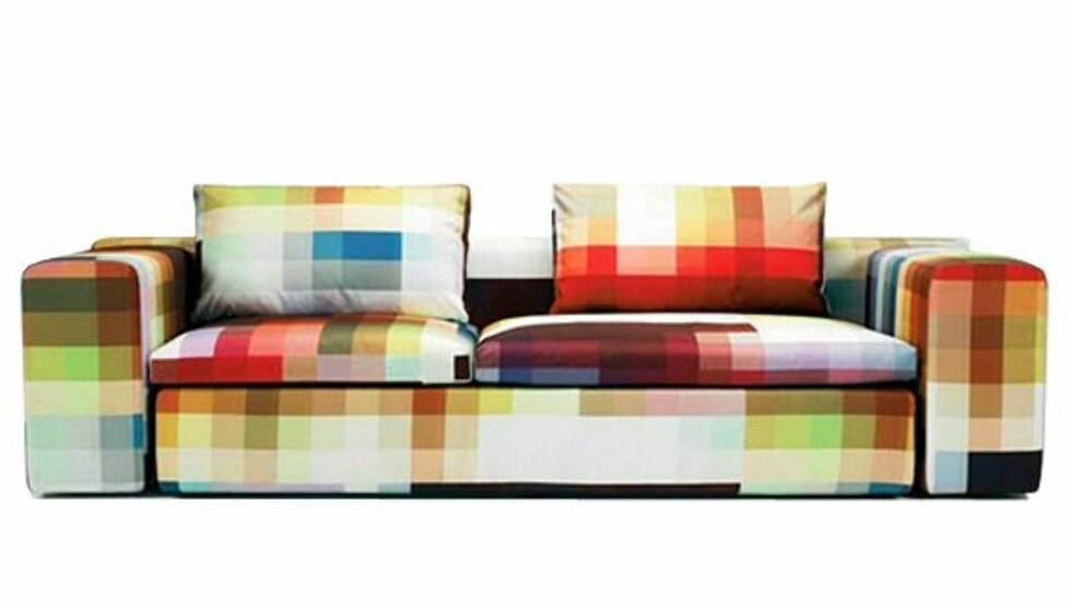 Pixel Couch består av piksler
