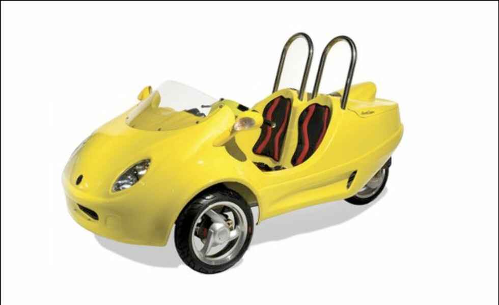 Sju sinnsyke kjøretøy