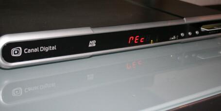 TEST: HD-PVR fra Canal Digital