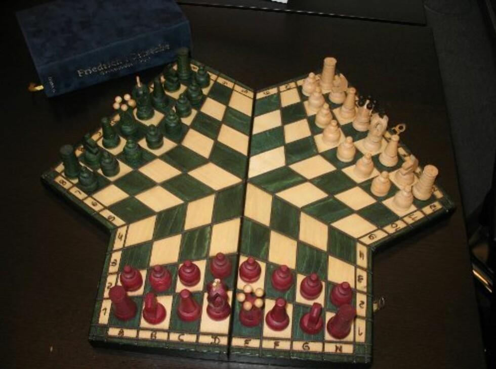 Vanlig sjakk er for pyser