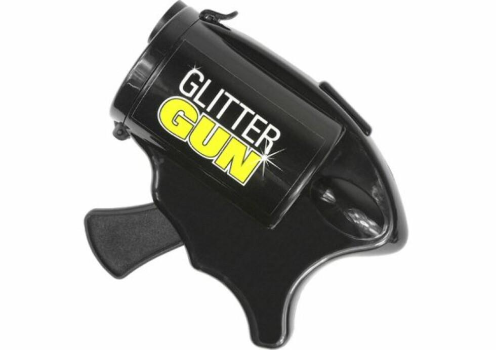 Glitter Gun skyter glitter