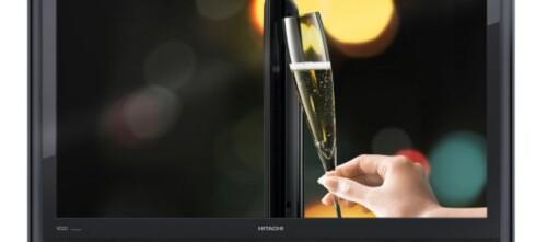 Tynne flatskjermer fra Hitachi
