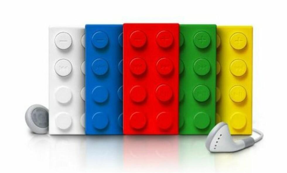 Musikalske LEGO-klosser