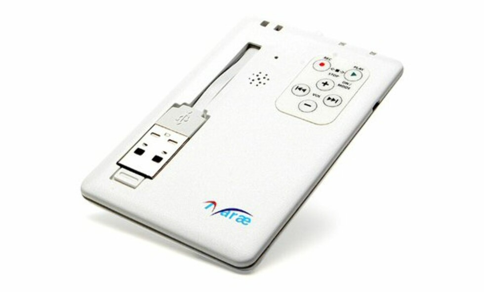 Ultra-thin Digital Voice Recorder