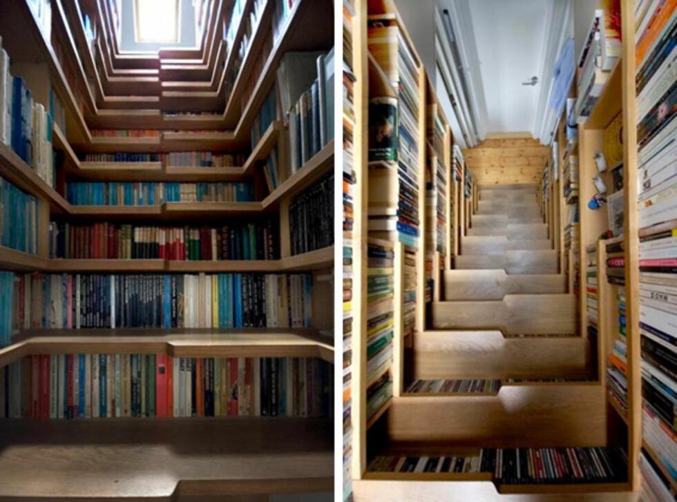 Opp en trapp