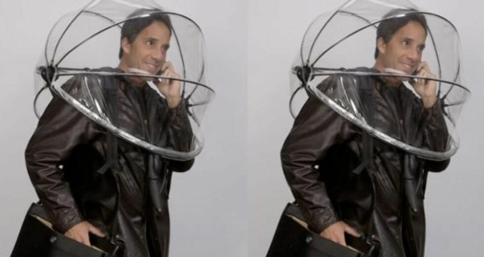 Nubrella er en bobleparaply