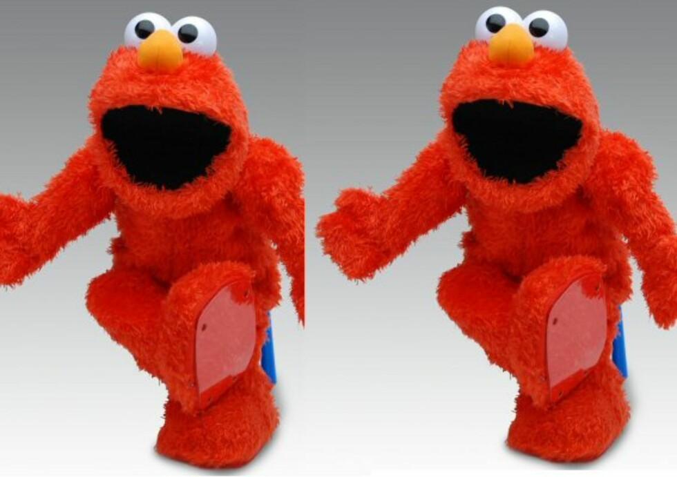 Elmo Live er i godt humør