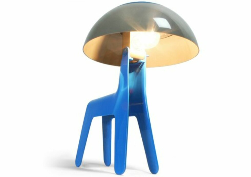 Dog Lamp er en hundelampe
