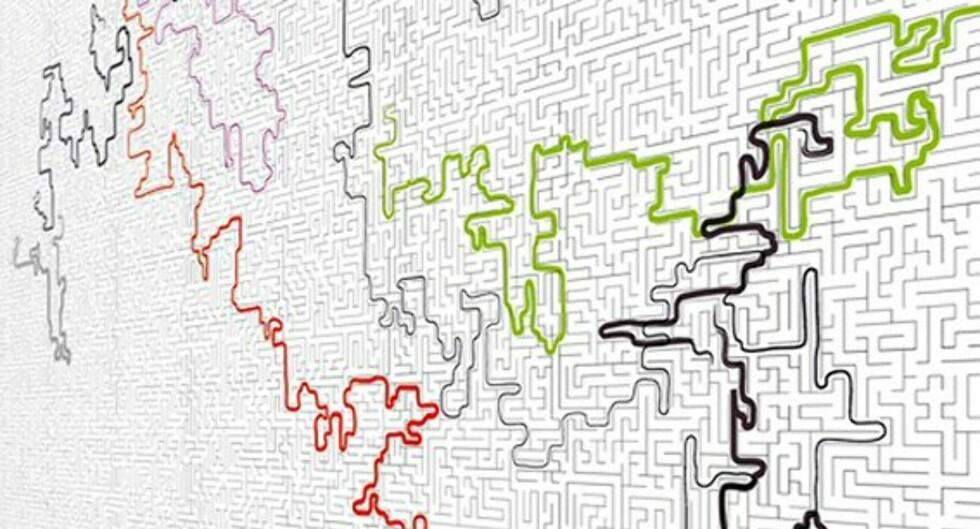 Labyrinthe Wallpaper