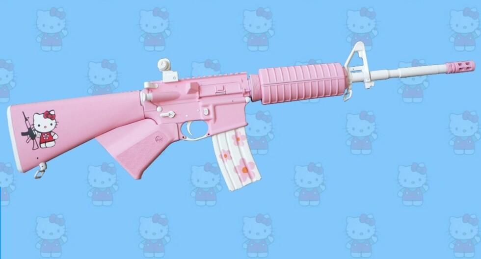 Spre frykt med Hello Kitty
