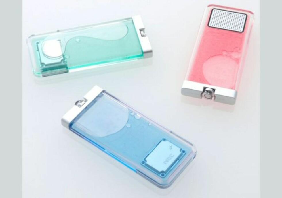 Lighter-mobil fra NEC