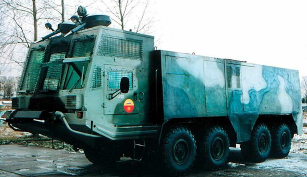 image: Opprørspolitiets monsterbiler