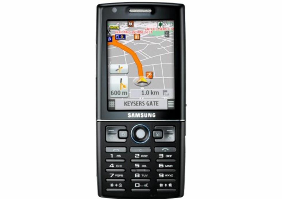 Samsung i550 på vei