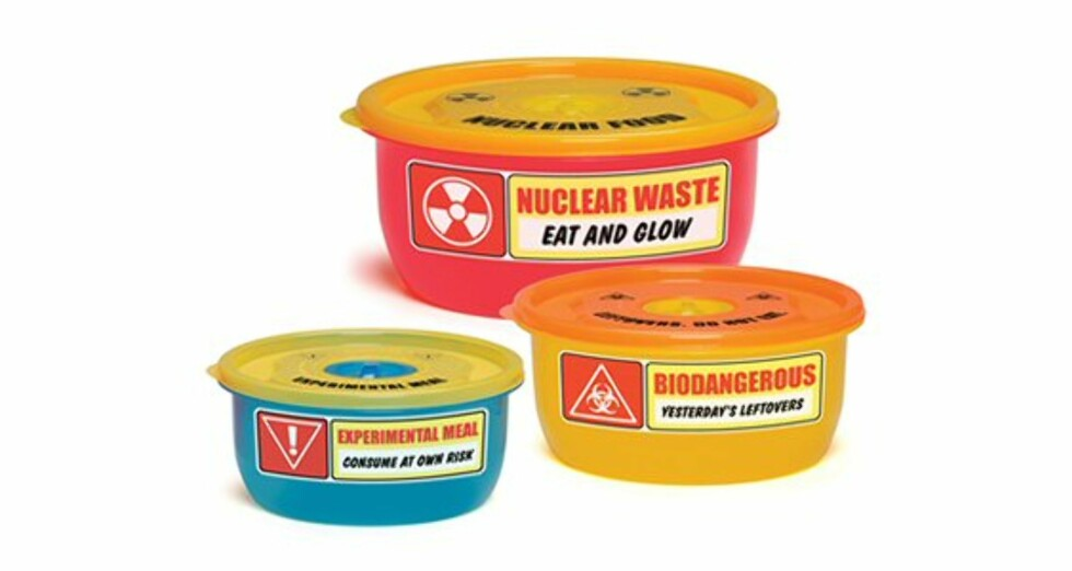 Atomic Food Containers