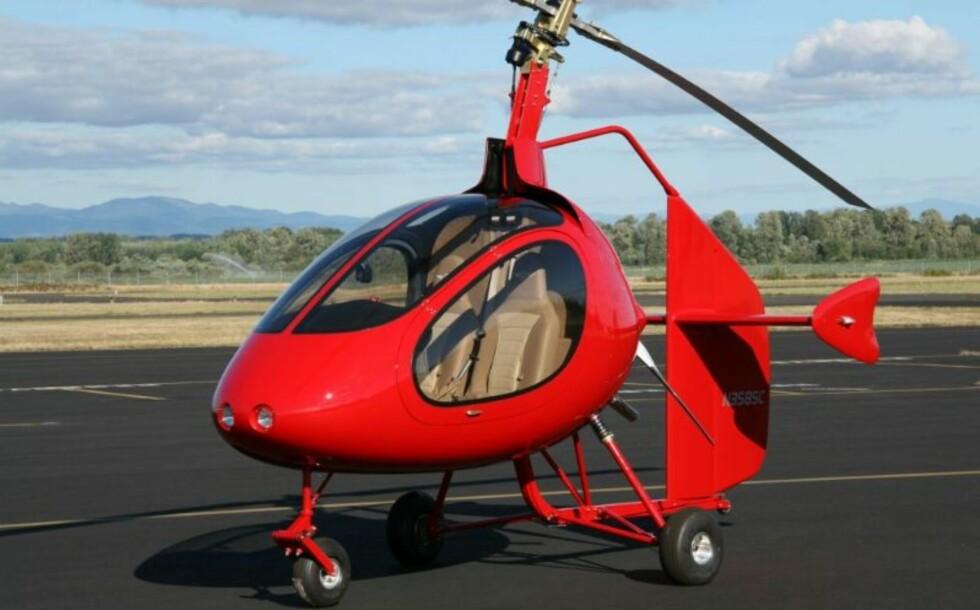 Sportcopter er rå moro