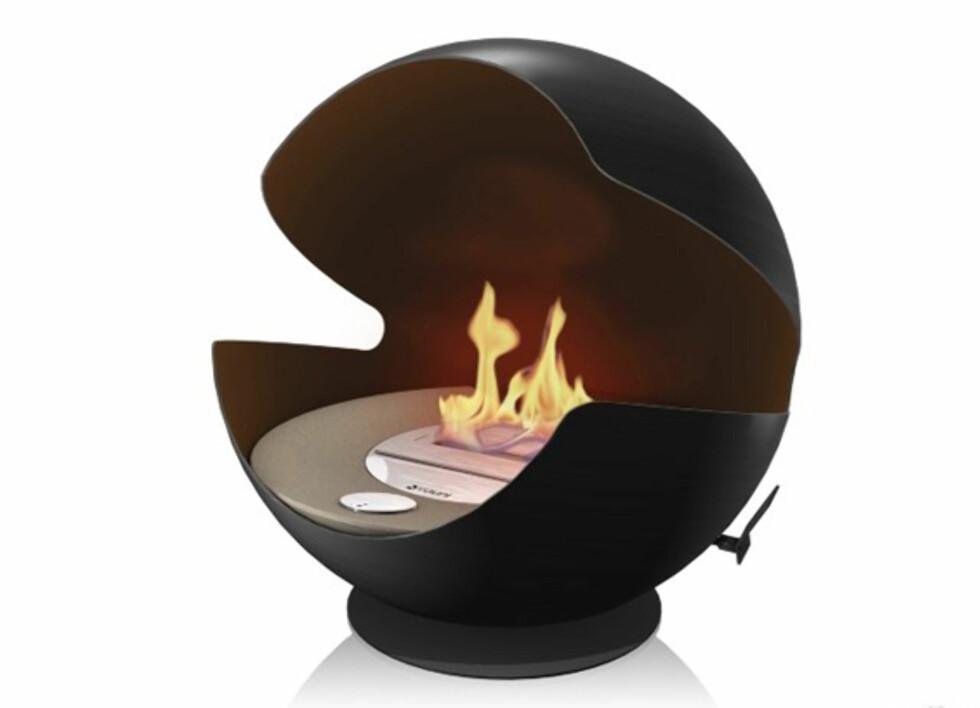 Mye varme i en liten klode