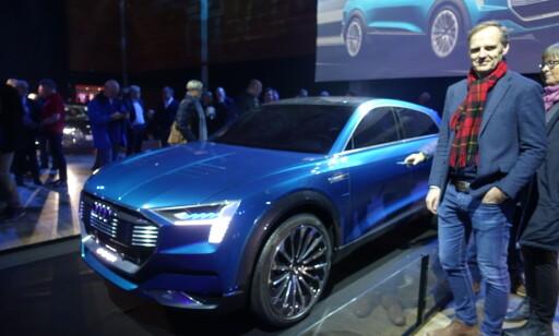 I KØ: Karl Wethal fra Asko er blant de første 1000 som får bilen.