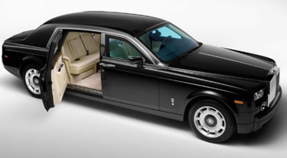 Mafiaversjon av Rolls Royce Phantom