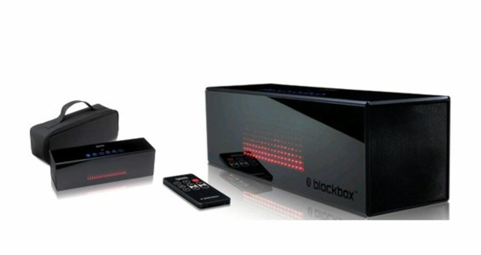 BlackBox streamer musikk