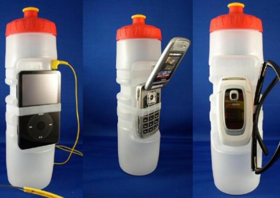 Gadget Bottle tar ansvar