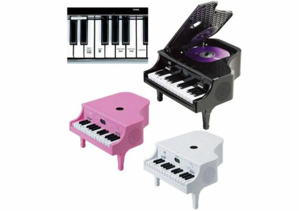 Pianoet som er en CD-spiller