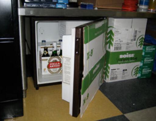 image: Slik får du kald øl på kontoret