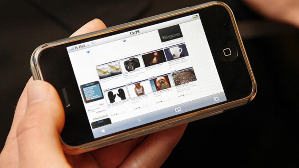 iPhone på norsk