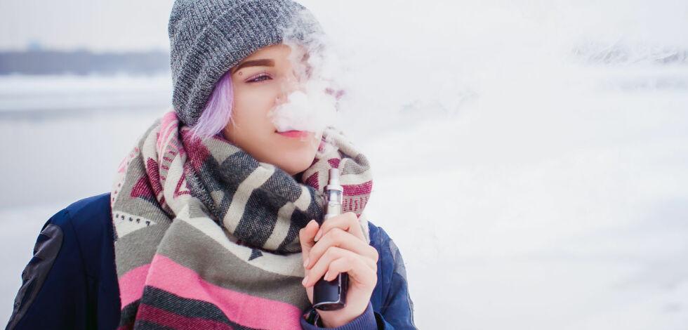 image: Slik blir det norske salget av e-sigaretter
