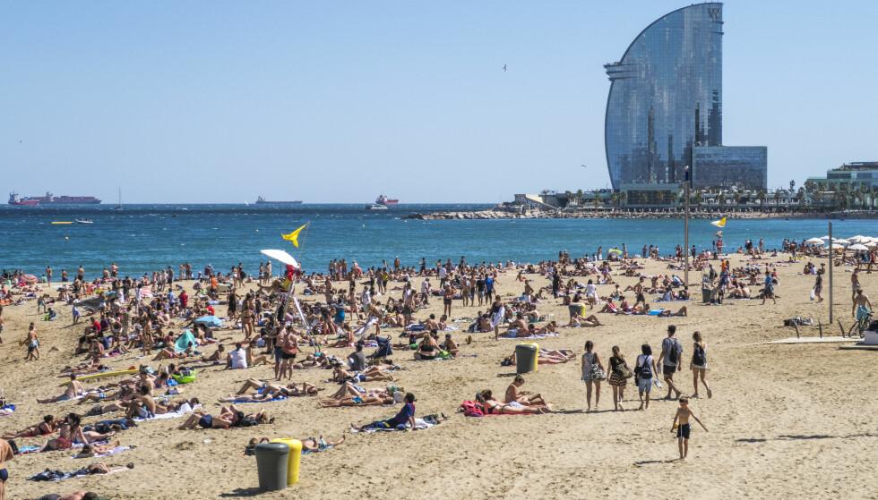 MYE GÅR HIT: Etter Sverige er Spania landet det går mest NAV-utbetalinger til i Europa. Foto: Halvard Alvik, NTB scanpix