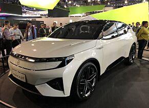 image: Byton viser elbil i Tesla-klasse