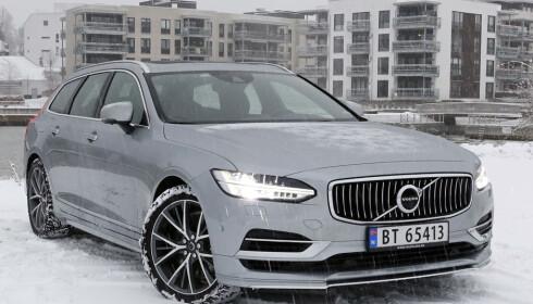 LADBAR SUKSESS: Volvo V90. Foto: Rune M. Nesheim