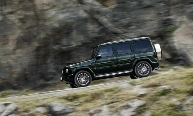 NY? JA, UTROLIG NOK: Mercedes har nok moderne SUV-er på sitt modellprogram til å kunne tillate seg å utvikle en helt ny G-klasse i den stilen entusiastene vil ha - med den klassiske terrengbilprofilen intakt. Foto: Daimler
